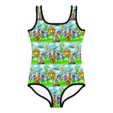 Rainbow Fright Kid's Swimsuit