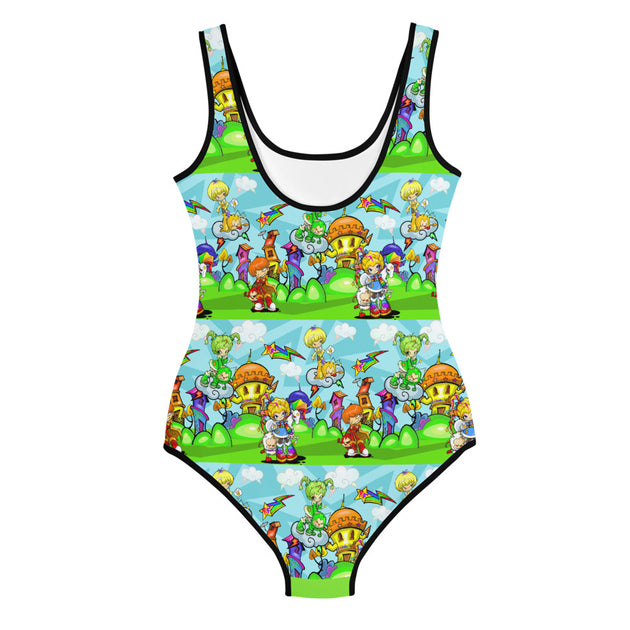 Rainbow Girl Youth Swimsuit