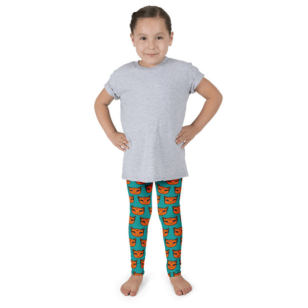 Autumn Kitty Children's Leggings