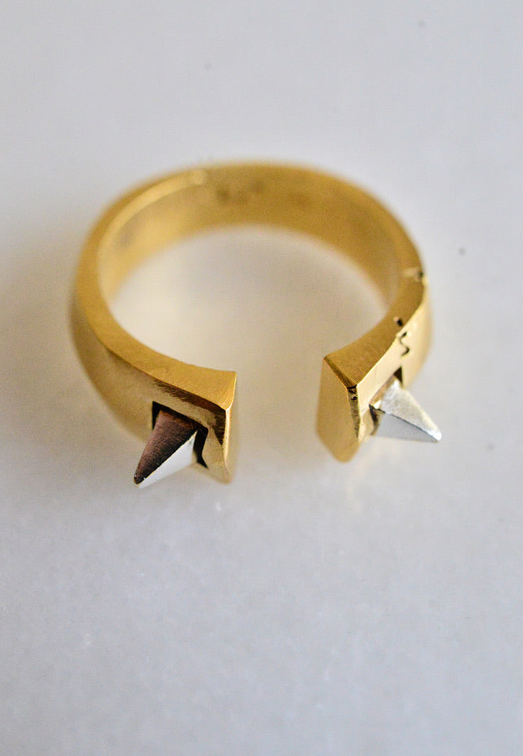 Spiked open ring