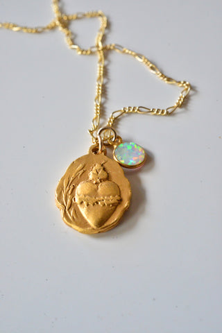 Virgen & Opal necklace