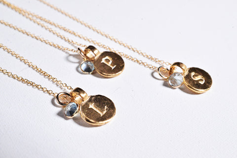 St. Cecilia coin necklace
