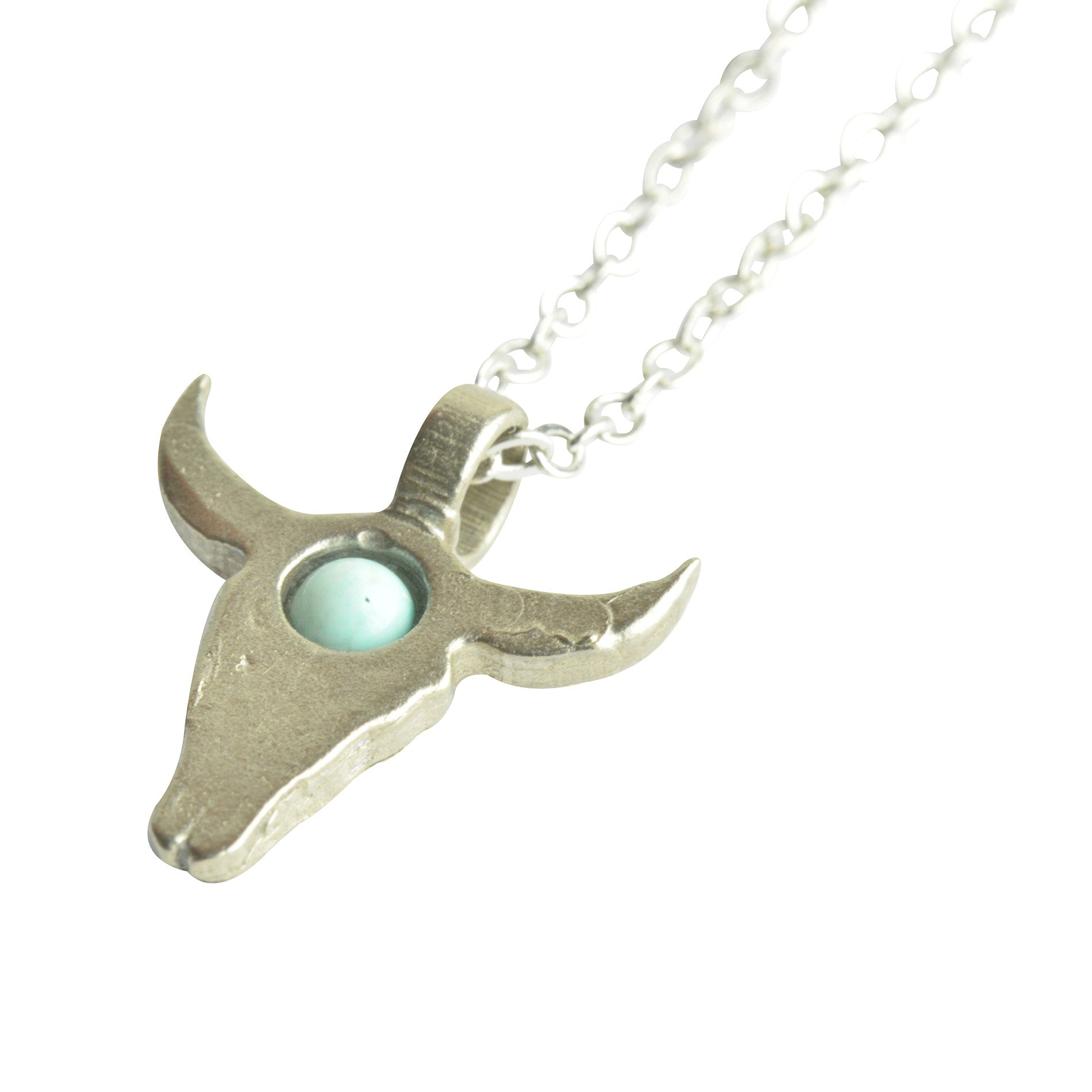 Mini bull necklace