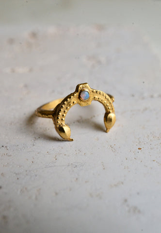 double serpent ring
