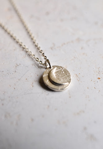 Long short chain-Vintage dime coin