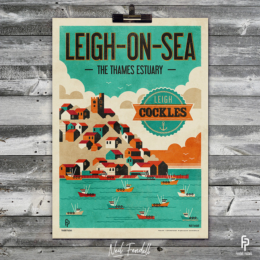 Leigh on Sea Poster