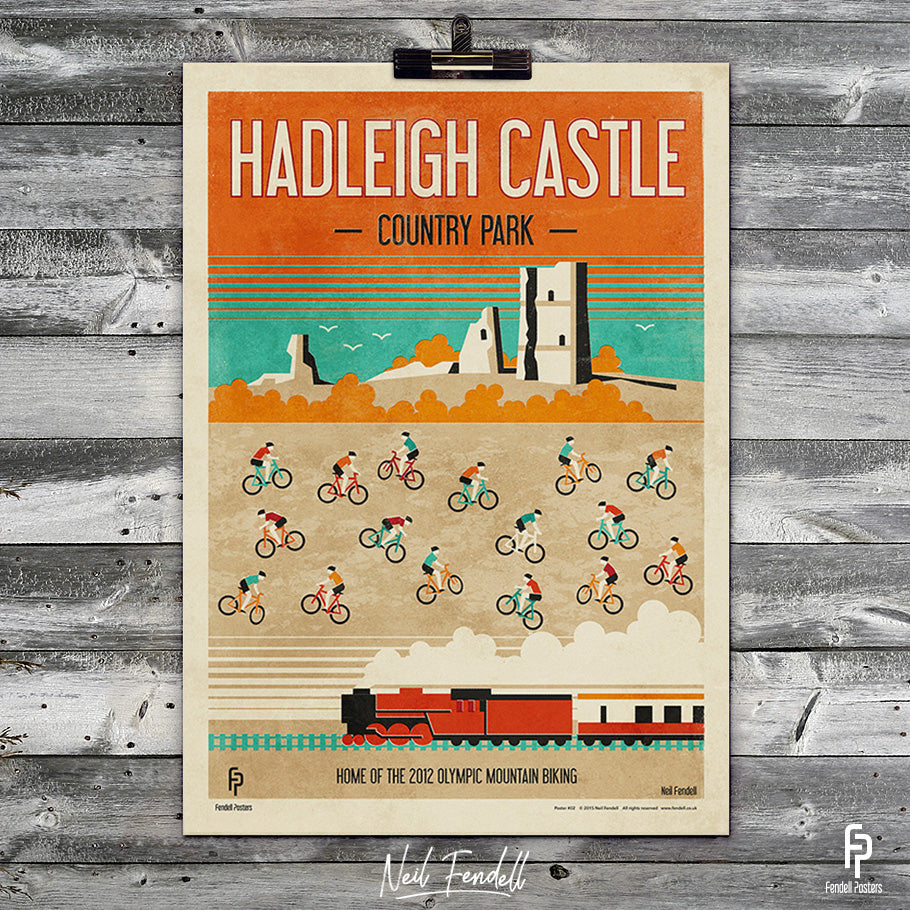 Hadleigh Castle Country Park Poster