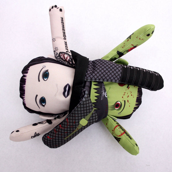 The Goth Flipping Zombie Doll
