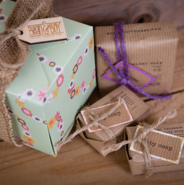 Soap box for Mum & Baby