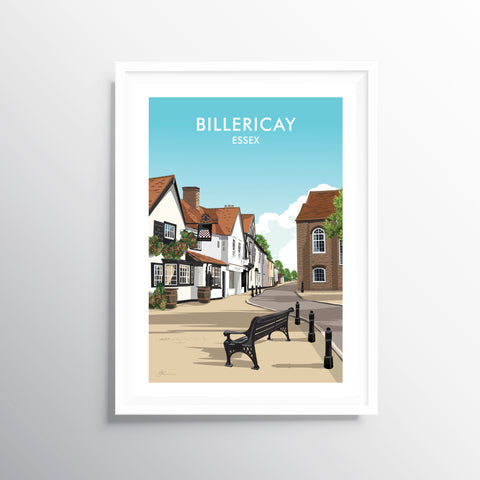 'Billericay' Travel Art Print