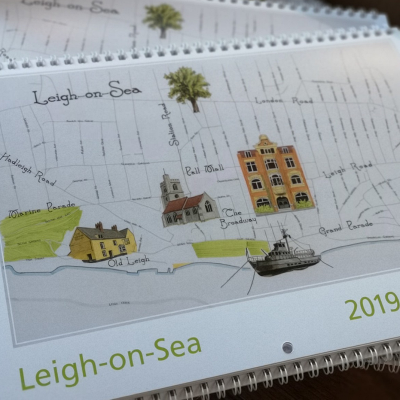 Leigh on Sea 2019 Calendar