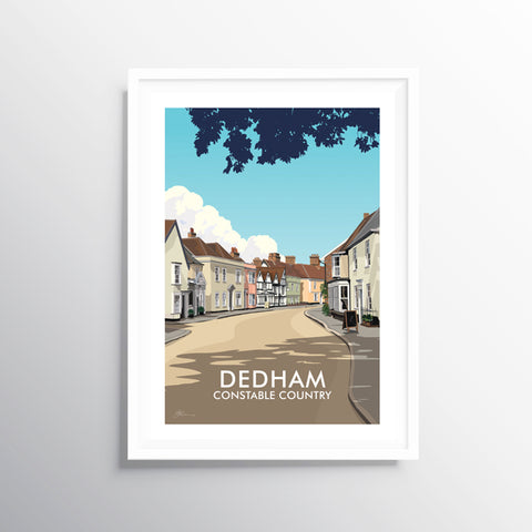 'Dedham' Travel Art Print