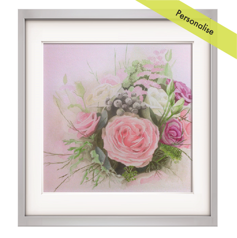 Flower Bouquet painting - Commission
