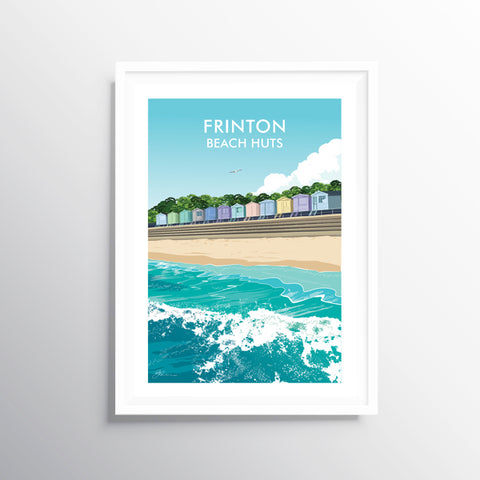 'Frinton' Travel Art Print