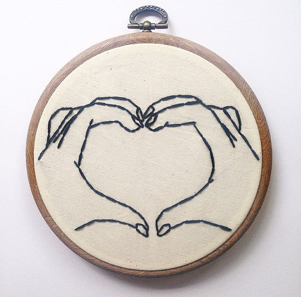 Expression of love - Wall hanging