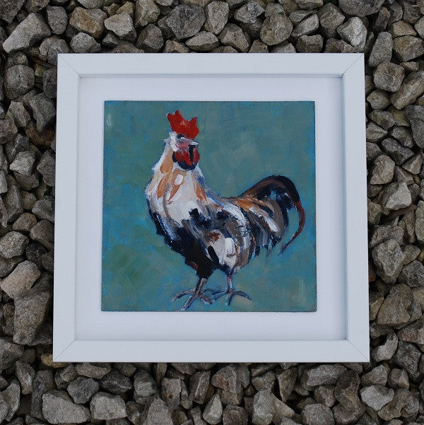 Proud hen - Original painting