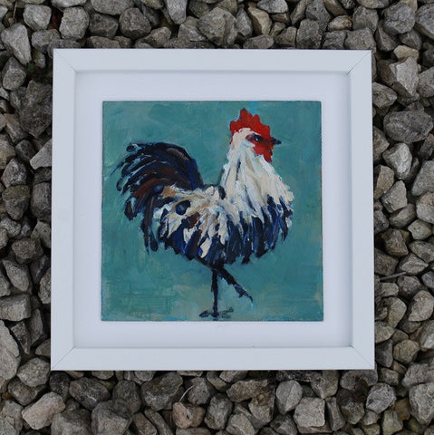 Strutting Hen - Original painting