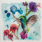 Hummingbird - Limited edition giclee print