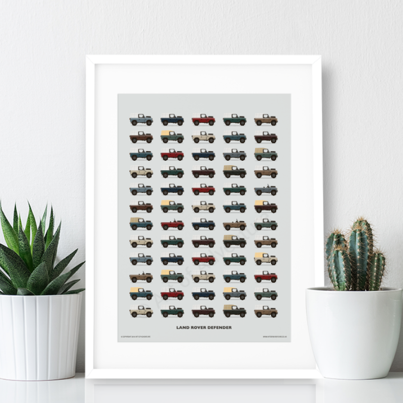 Land Rover Defender Print