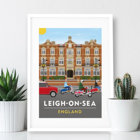 Leigh on Sea Poster Print - The Grand