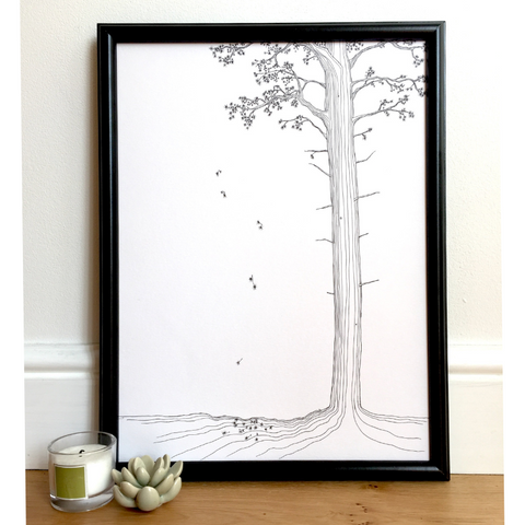 Lonely Pine Print