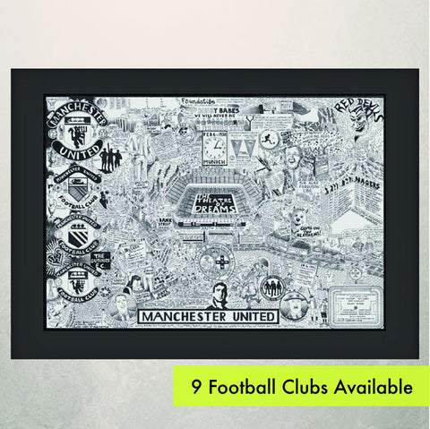 Football Club Illustrated History prints
