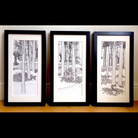 Mirkwood Prints - Set of 3