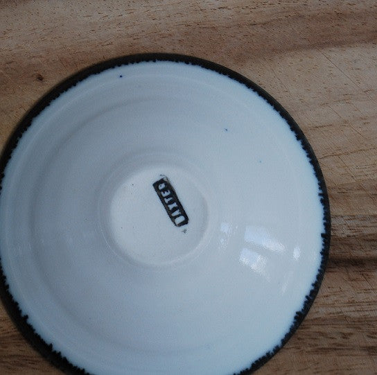 Porcelain mini dish - Cream