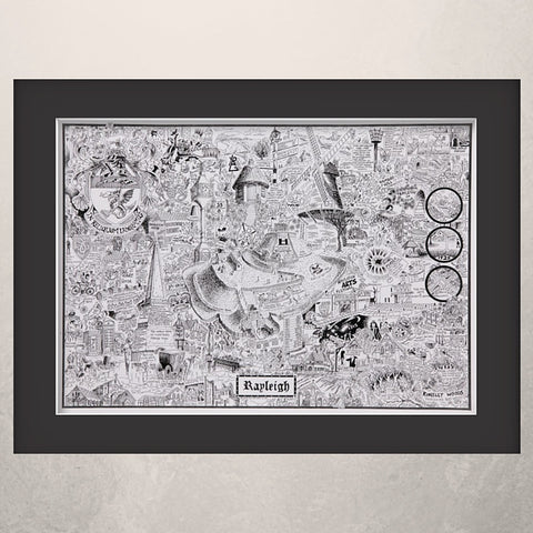 Rayleigh Illustrated History print