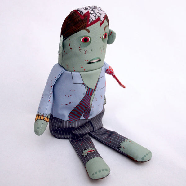The Corporate Guy Flipping Zombie Doll