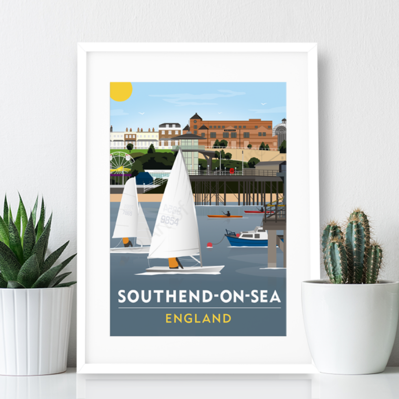 Southend on Sea Poster Print