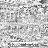 Southend Illustrated History print
