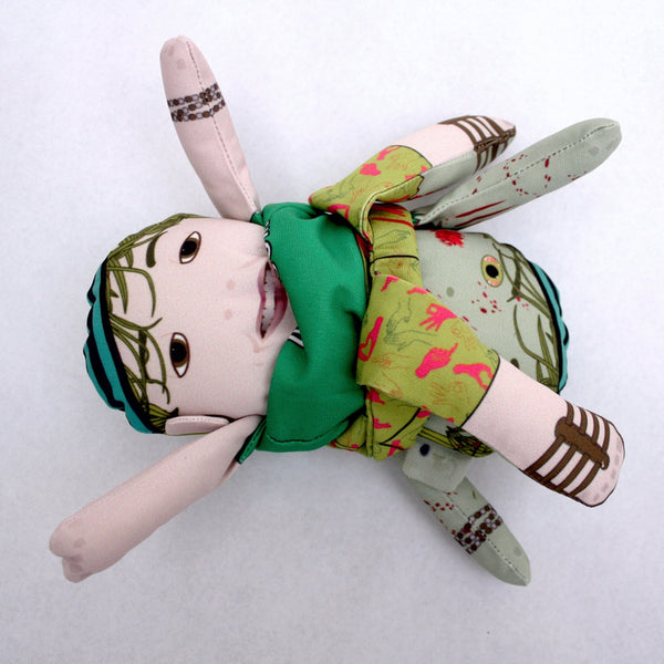 The Stoner Flipping Zombie Doll