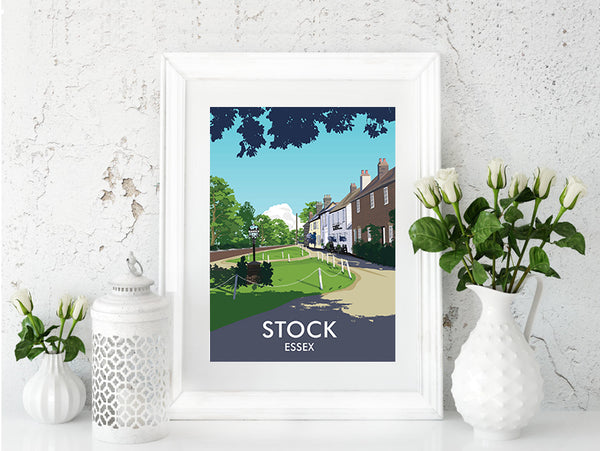 'Stock' Travel Art Print