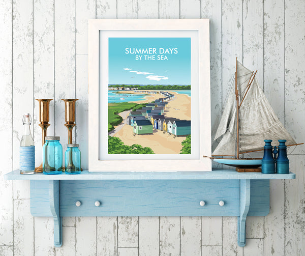 'Summer Days' Travel Art Print