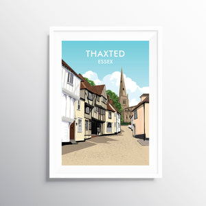 'Thaxted' Travel Art Print