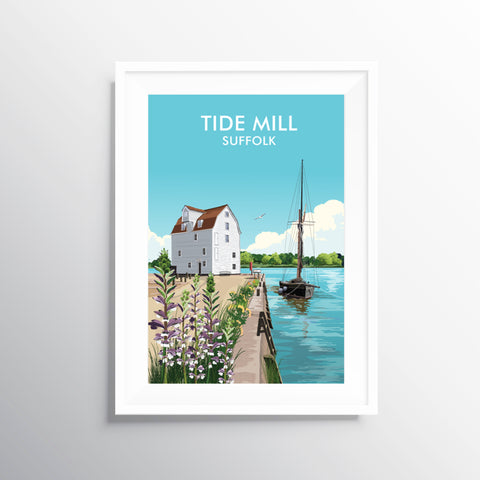 'Tide Mill' Travel Art Print