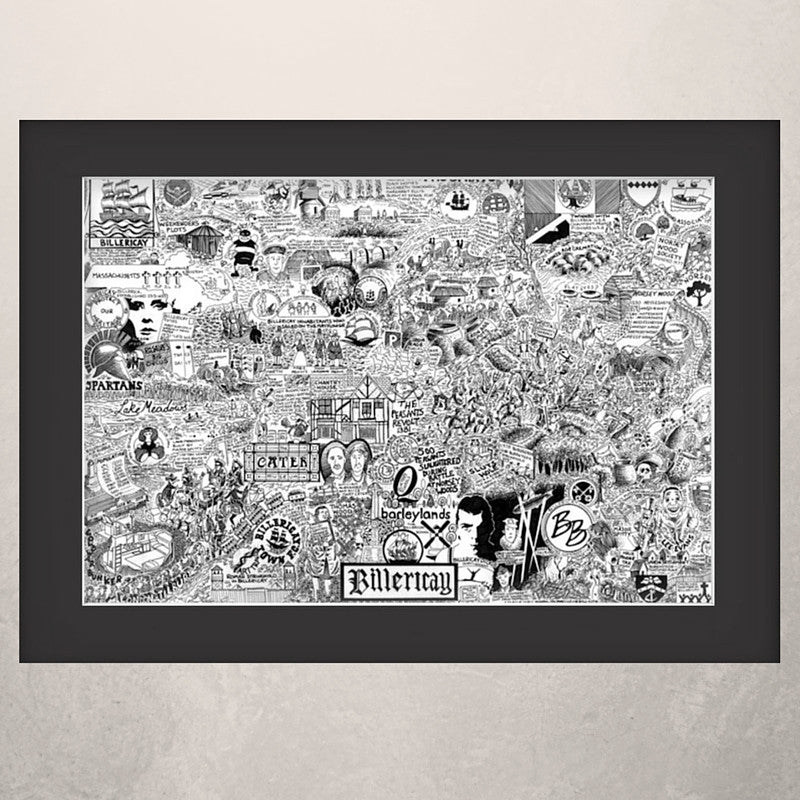 Billericay Illustrated History print
