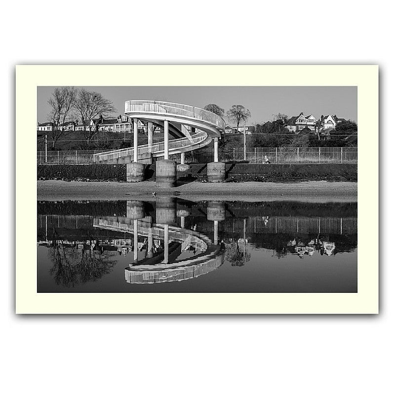 'Gypsy bridge twice' print
