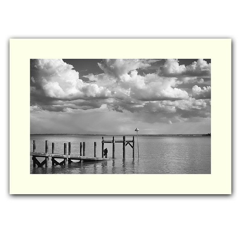 'Southend jetty' print