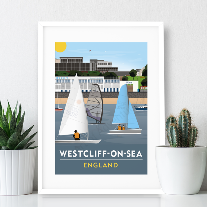 Westcliff Poster Print