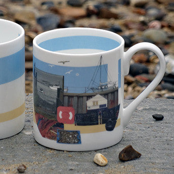 Old Leigh Fishing Boats Mug