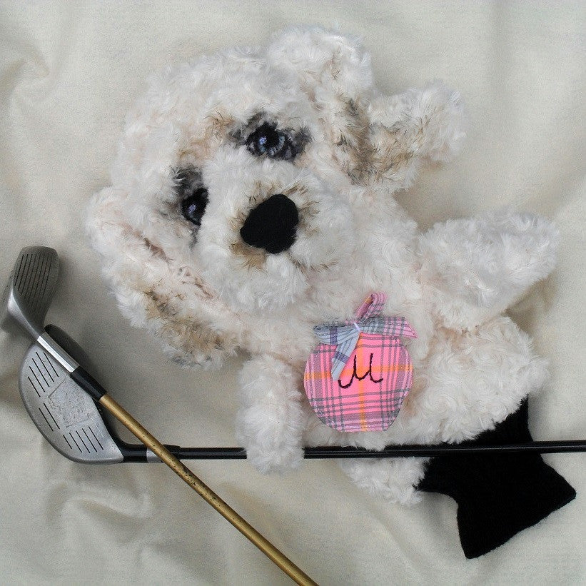 Cockapoo Dog Golf club cover