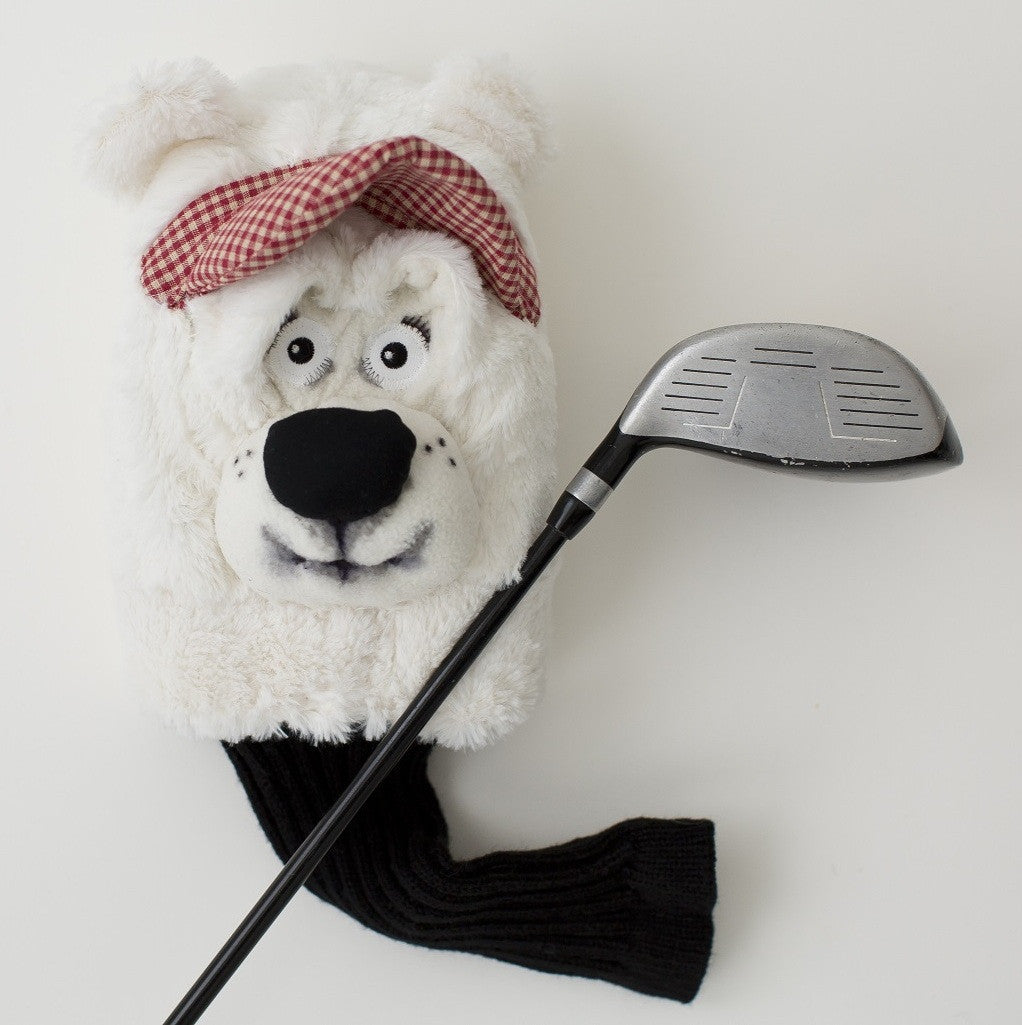 Polar bear Golf club cover