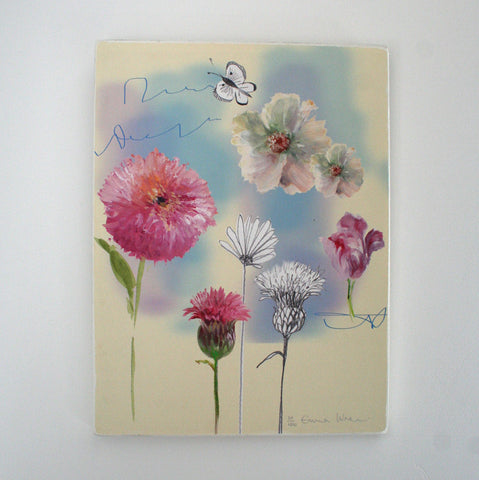 Floaty floral - Limited edition giclee print