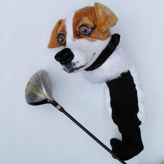 Jack Russell Golf club cover