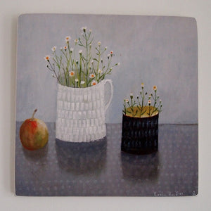 Jug, Mug and Apple - Limited edition giclee print