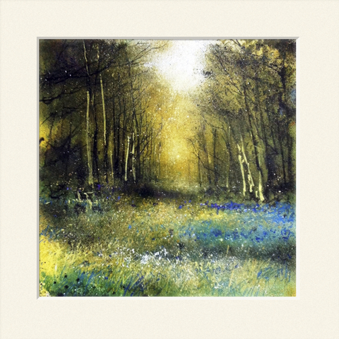 'Bluebell wood' print