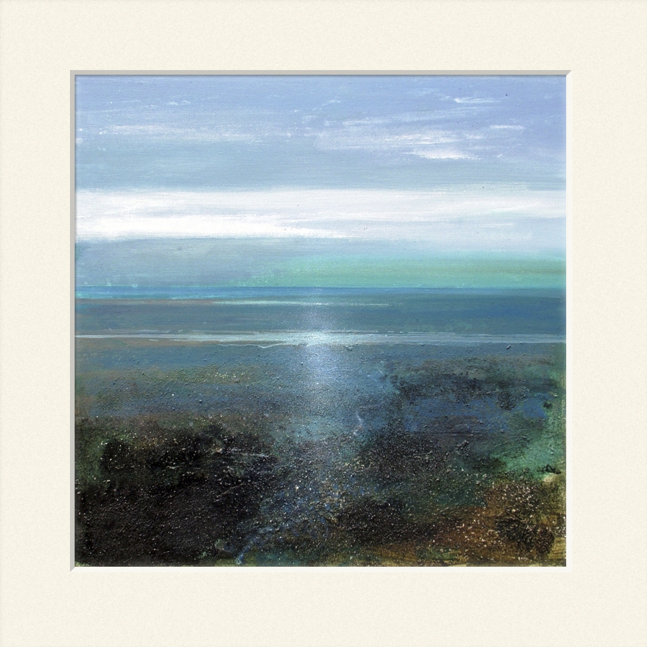 'Winter's afternoon on the Estuary' print