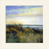 'Gorse and Sails' print
